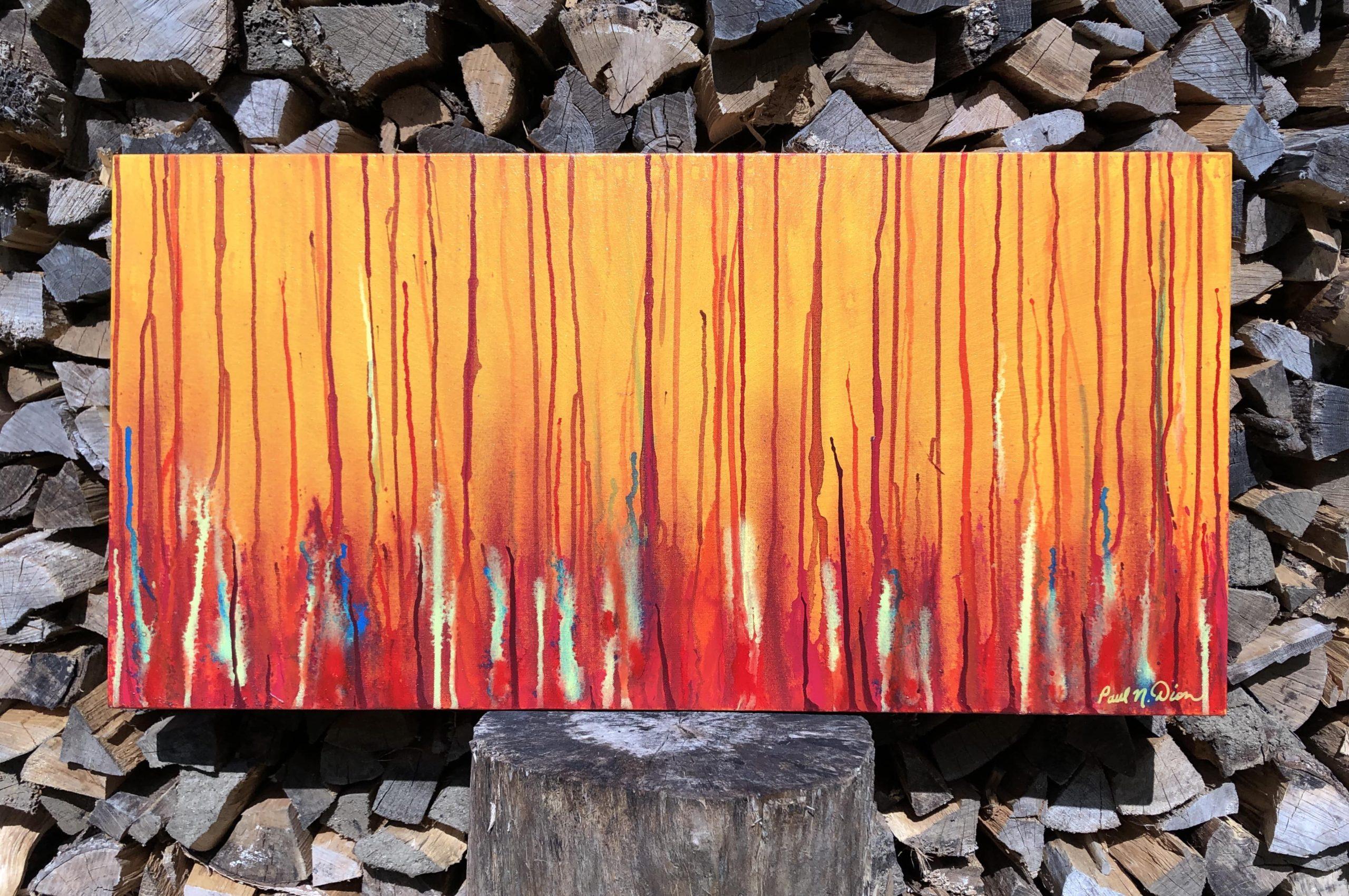 Fire Below One